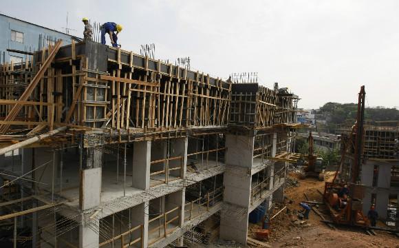 O primeiro índice do ano mostra leve crescimento no faturamento das indústrias de materiais de construção.